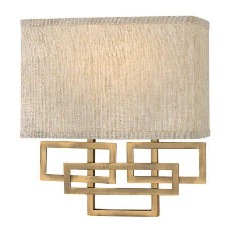Lanza Lampa nowoczesna – Styl modern classic – kolor beżowy, brązowy