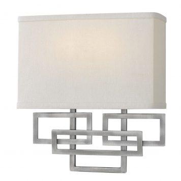 Lanza Lampa nowoczesna – Styl nowoczesny – kolor beżowy, srebrny