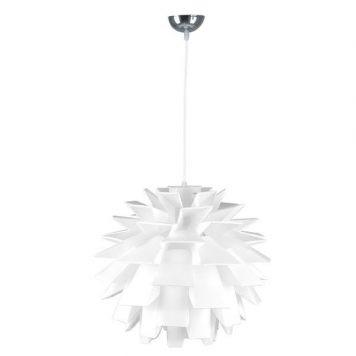 Lathi Lampa wisząca – Styl skandynawski – kolor biały
