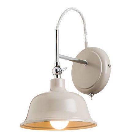 Laughton  Lampa klasyczna – klasyczny – kolor Szary