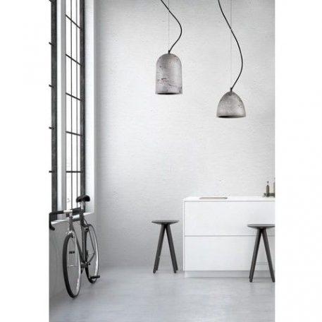 Lava  Lampa wisząca – industrialny – kolor Szary