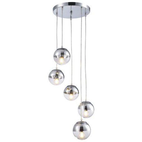 Layla  Lampa wisząca – Styl nowoczesny – kolor srebrny