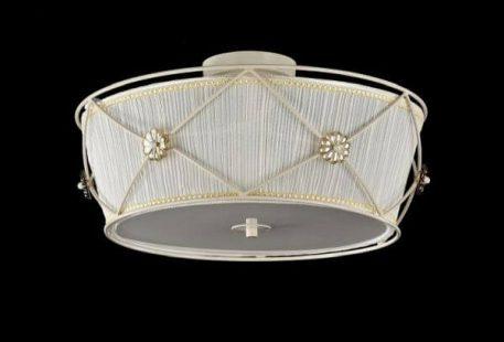 Lea  Plafon – klasyczny – kolor beżowy, biały