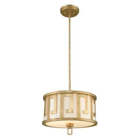 Lemuria Lampa wisząca – Styl modern classic – kolor biały, złoty