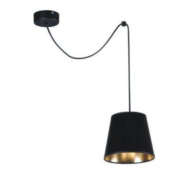 Libero Lampa wisząca – Styl modern classic – kolor złoty, Czarny