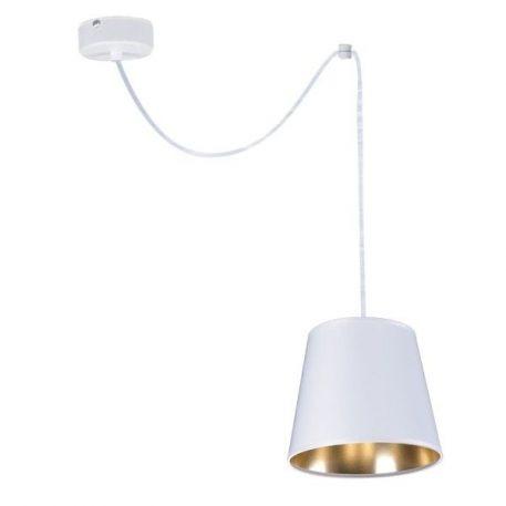Libero Lampa wisząca – Styl nowoczesny – kolor biały, złoty