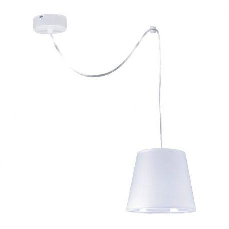 Libero  Lampa wisząca – Z abażurem – kolor biały