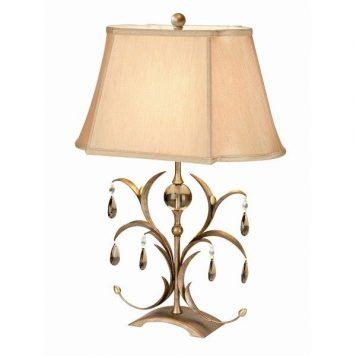 Lily   Lampa klasyczna – klasyczny – kolor beżowy, brązowy
