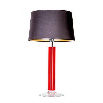 Little Fjord Lampa nowoczesna – Styl modern classic – kolor połysk, Czarny, Czerwony
