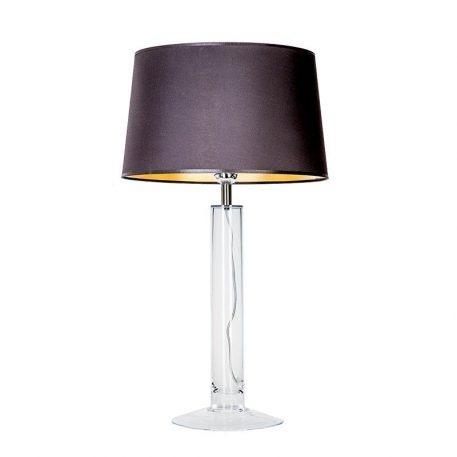 Little Fjord Lampa nowoczesna – szklane – kolor połysk, transparentny, Czarny