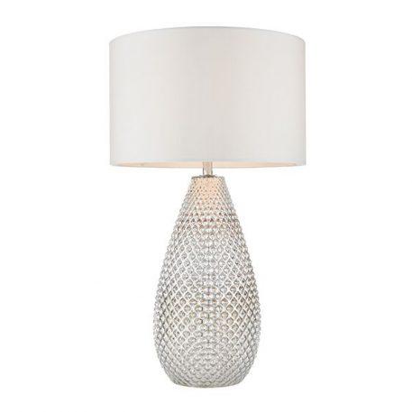 Livia  Lampa nowoczesna – szklane – kolor biały, srebrny