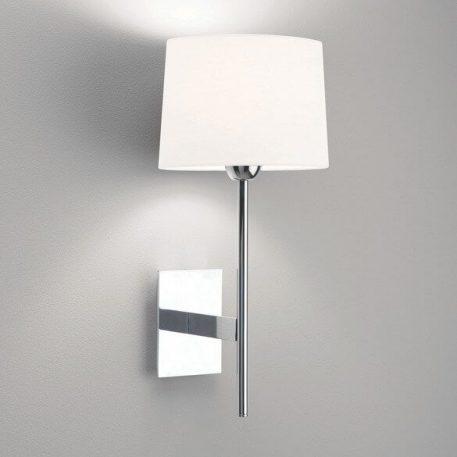 Lloyd Lampa nowoczesna – Z abażurem – kolor srebrny