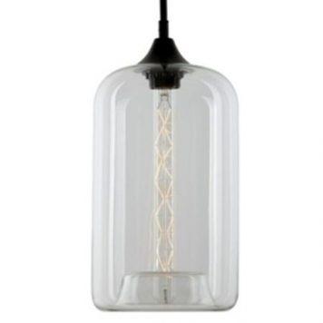 London Loft  Lampa wisząca – Styl skandynawski – kolor transparentny