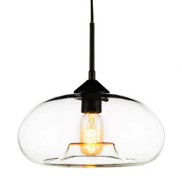 London Loft Lampa wisząca – szklane – kolor transparentny