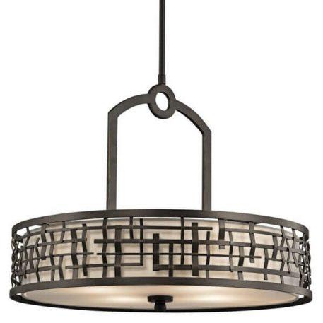 Loom Lampa wisząca – Styl modern classic – kolor beżowy, brązowy