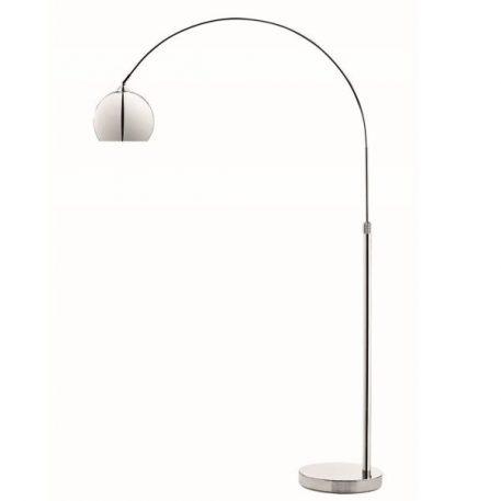 Lounge Lampa skandynawska – Do czytania – kolor srebrny