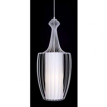 Luksor Plus Lampa wisząca – Styl nowoczesny – kolor biały