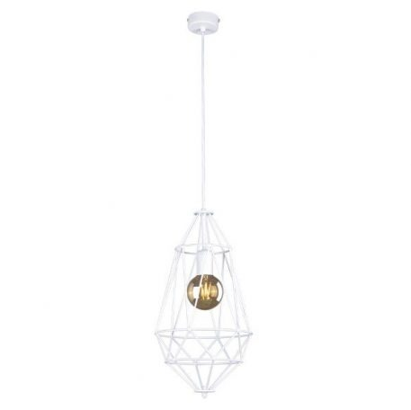 Lupo  Lampa wisząca – Styl skandynawski – kolor biały