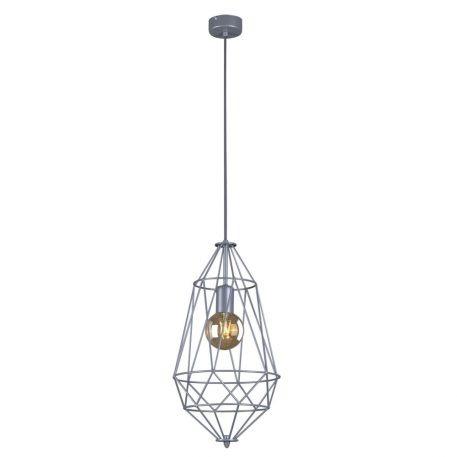 Lupo Lampa wisząca – Styl skandynawski – kolor srebrny