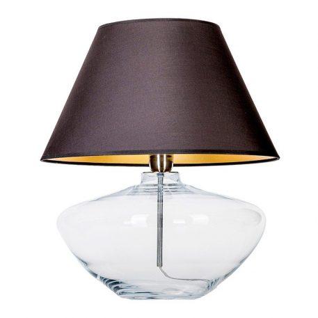 Madrid  Lampa nowoczesna – Styl nowoczesny – kolor transparentny, Czarny