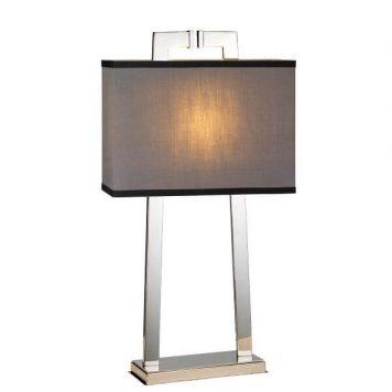 Magro Lampa modern classic – Styl modern classic – kolor srebrny, Szary