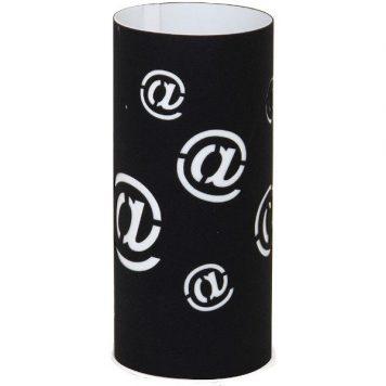 Mail  Lampa stołowa – kolor biały, Czarny