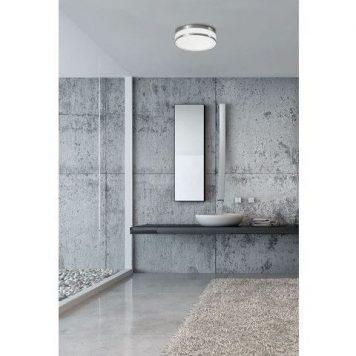 Malakka Plafon – Styl nowoczesny – kolor biały, srebrny