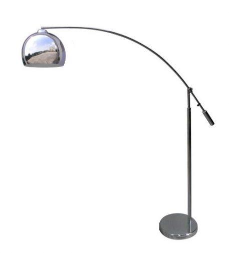 Manhattan Lampa podłogowa – Styl nowoczesny – kolor srebrny