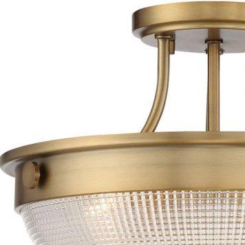 Mantle Lampa sufitowa – klasyczny – kolor mosiądz, transparentny