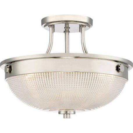 Mantle Lampa sufitowa – klasyczny – kolor srebrny, transparentny