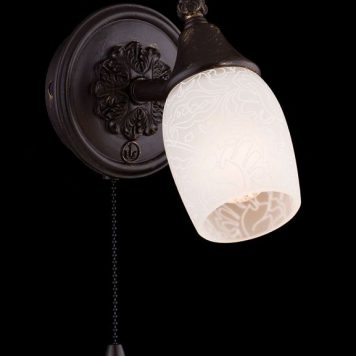 Margaret Lampa klasyczna – szklane – kolor brązowy