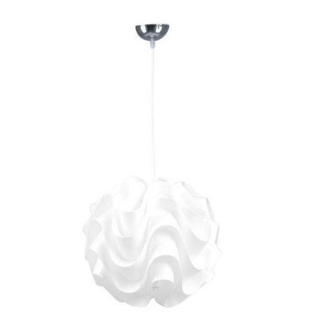 Marit Lampa wisząca – Styl skandynawski – kolor biały