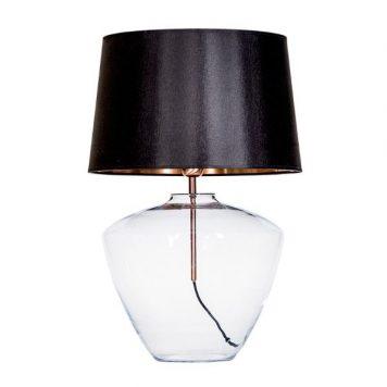 Markings Lampa nowoczesna – Styl modern classic – kolor transparentny, Czarny