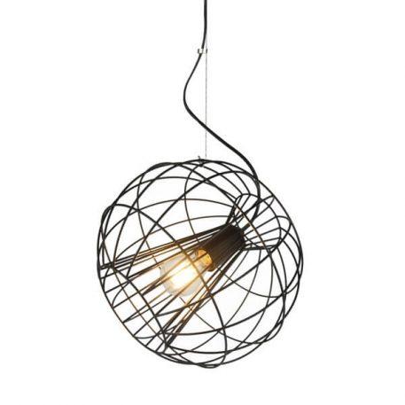 Marl Lampa wisząca – industrialny – kolor Czarny