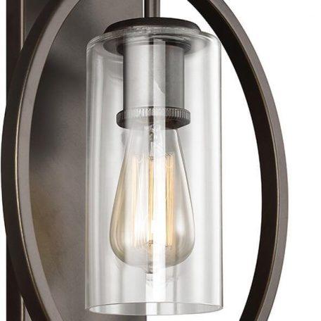 Marlena Lampa klasyczna – industrialny – kolor brązowy