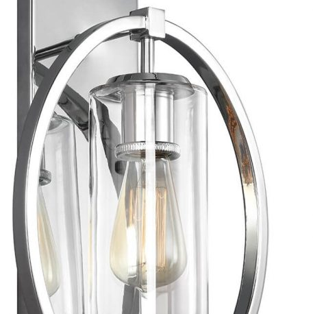 Marlena Lampa klasyczna – klasyczny – kolor srebrny