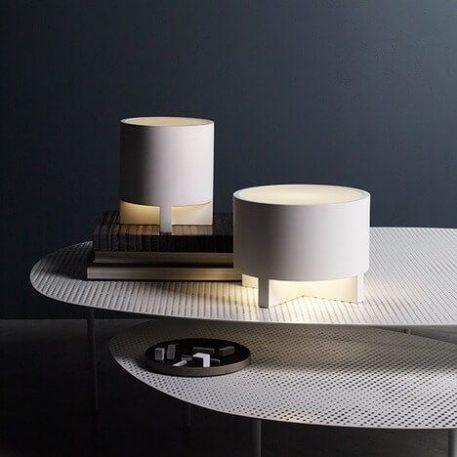 Martello Lampa nowoczesna – Gipsowe – kolor biały