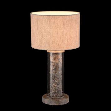Maryland Lampa stołowa – Z abażurem – kolor Szary