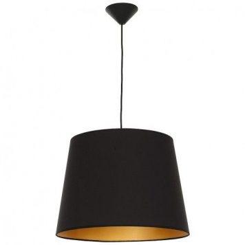 Marylin  Lampa wisząca – Styl nowoczesny – kolor złoty, Czarny