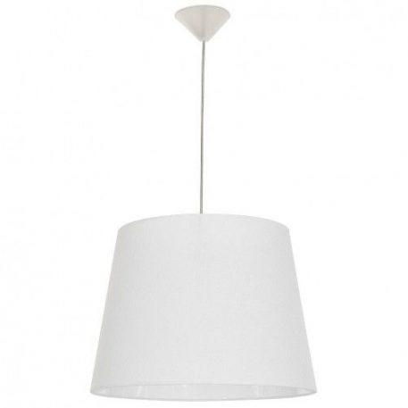 Marylin  Lampa wisząca – Z abażurem – kolor biały