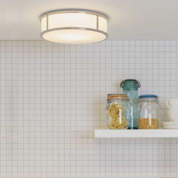 Mashiko Lampa sufitowa – Styl nowoczesny – kolor biały, srebrny