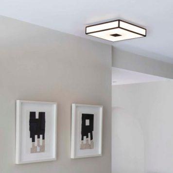 Mashiko Lampa sufitowa – szklane – kolor biały, brązowy