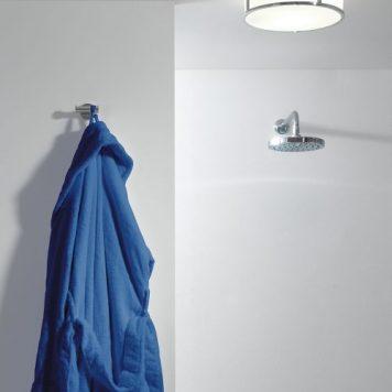Mashiko Lampa sufitowa – szklane – kolor biały, srebrny