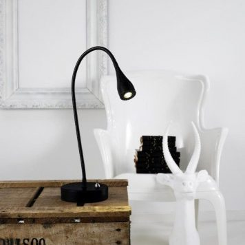 Mento  Lampa LED – Biurkowe – kolor Czarny