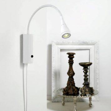Mento Lampa LED – Styl nowoczesny – kolor biały