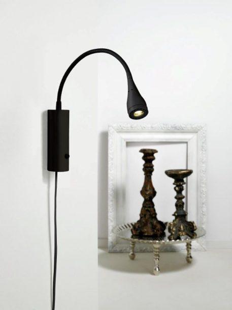 Mento Lampa nowoczesna – Do czytania – kolor Czarny