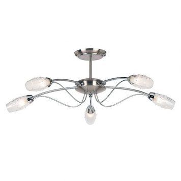 Mercury Lampa sufitowa – klasyczny – kolor srebrny