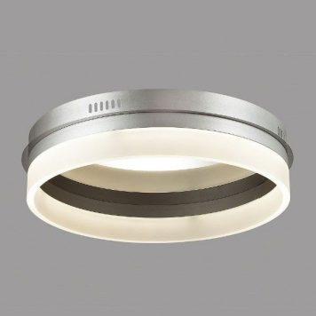 Merkury  Plafon – Lampy i oświetlenie LED – kolor biały, srebrny
