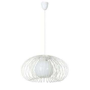 Mersey  Lampa wisząca – Styl skandynawski – kolor biały