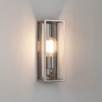 Messina  Lampa industrialna – szklane – kolor srebrny, transparentny